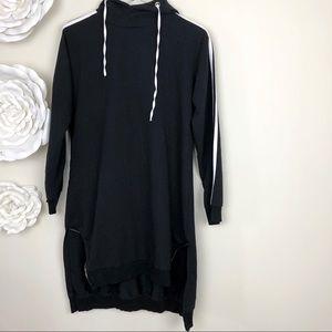 Tops - Oversized hoodie/dress
